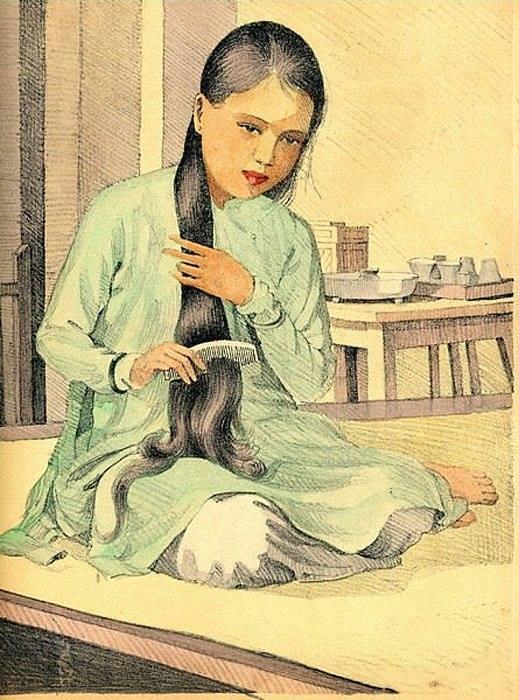 Chiêm ngưỡng bộ tranh vẽ cuộc sống người Việt vào thập niên 1930 - 61