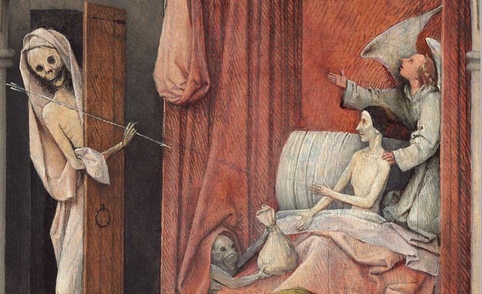 """Ngụ ngôn đạo đức trong bức """"Thần chết và kẻ bủn xỉn"""" - 8"""