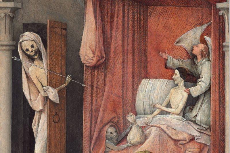 """Ngụ ngôn đạo đức trong bức """"Thần chết và kẻ bủn xỉn"""" - 3"""