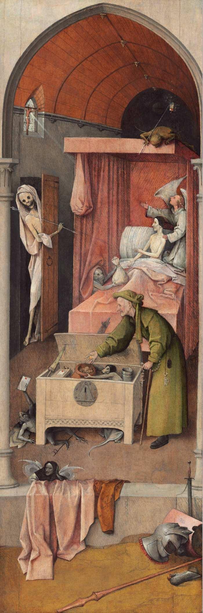 """Ngụ ngôn đạo đức trong bức """"Thần chết và kẻ bủn xỉn"""" - 1"""