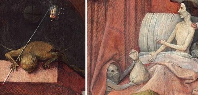 """Ngụ ngôn đạo đức trong bức """"Thần chết và kẻ bủn xỉn"""" - 6"""