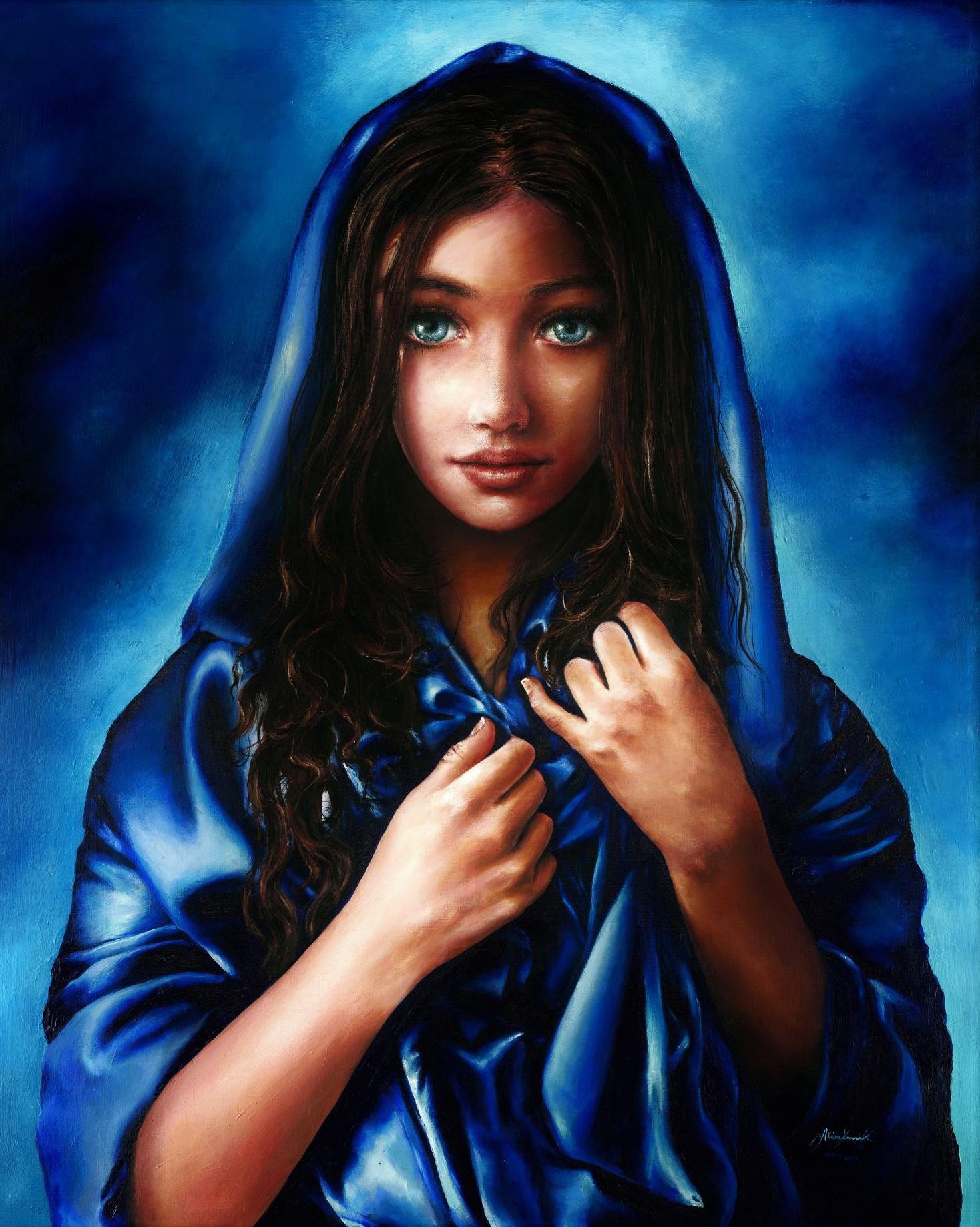 Cô bé kiếm hàng triệu đô nhờ vào tài năng vẽ tranh siêu thường - 11