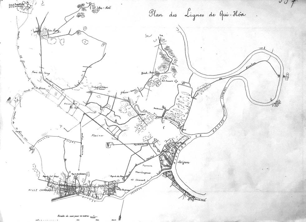 Đến Đường sách xem bản đồ và hình ảnh Sài Gòn xưa - 4