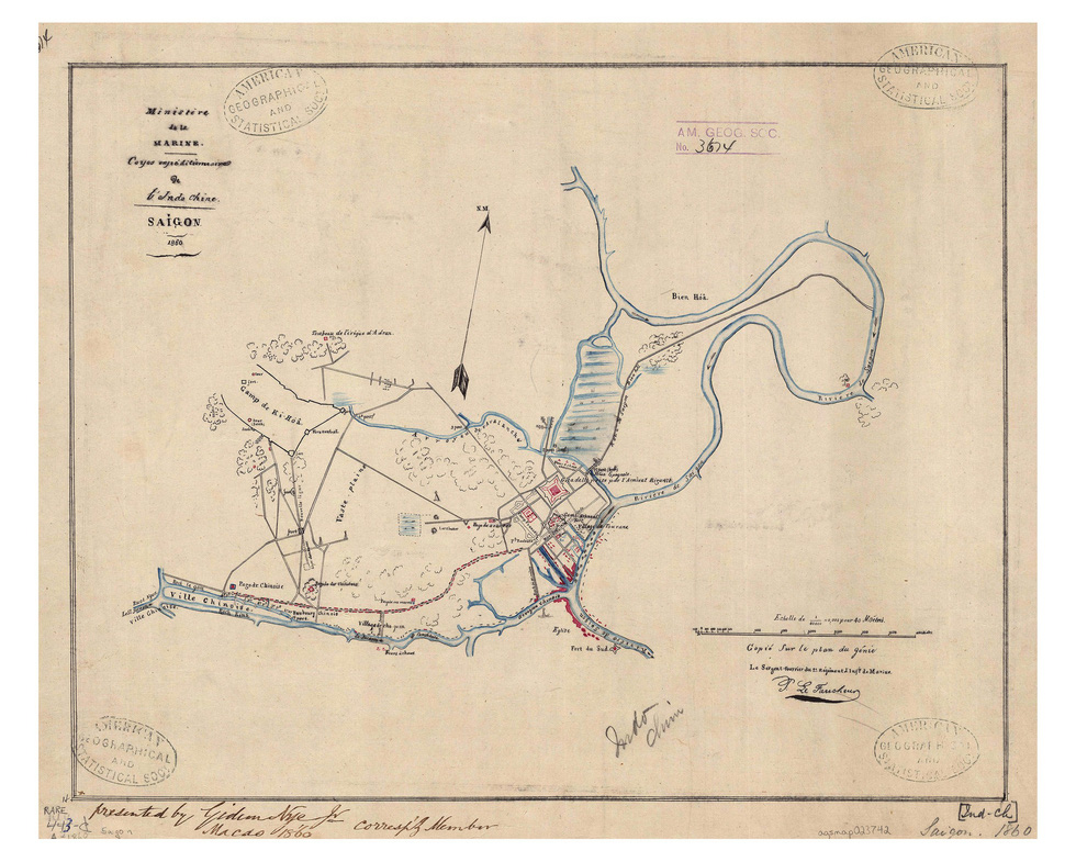 Đến Đường sách xem bản đồ và hình ảnh Sài Gòn xưa - 6