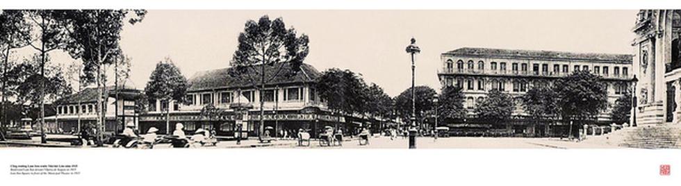 Đến Đường sách xem bản đồ và hình ảnh Sài Gòn xưa - 13