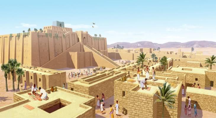 Tháp Babel của người Babylon và vọng tưởng chạm tới thiên đàng - 12