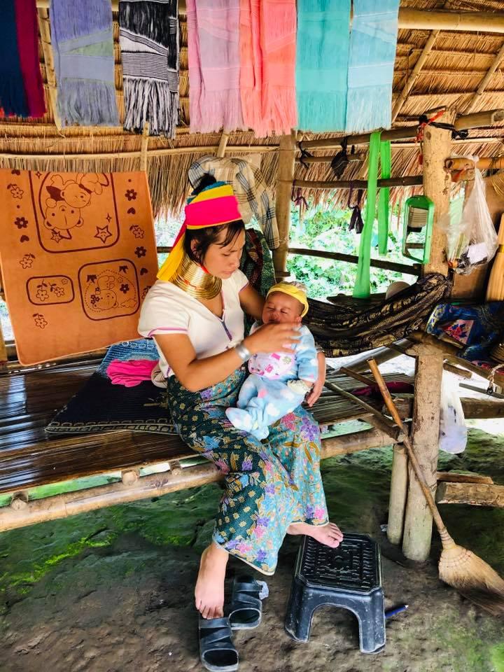 Thăm bộ tộc cổ dài Karen, Chiang Rai - 14