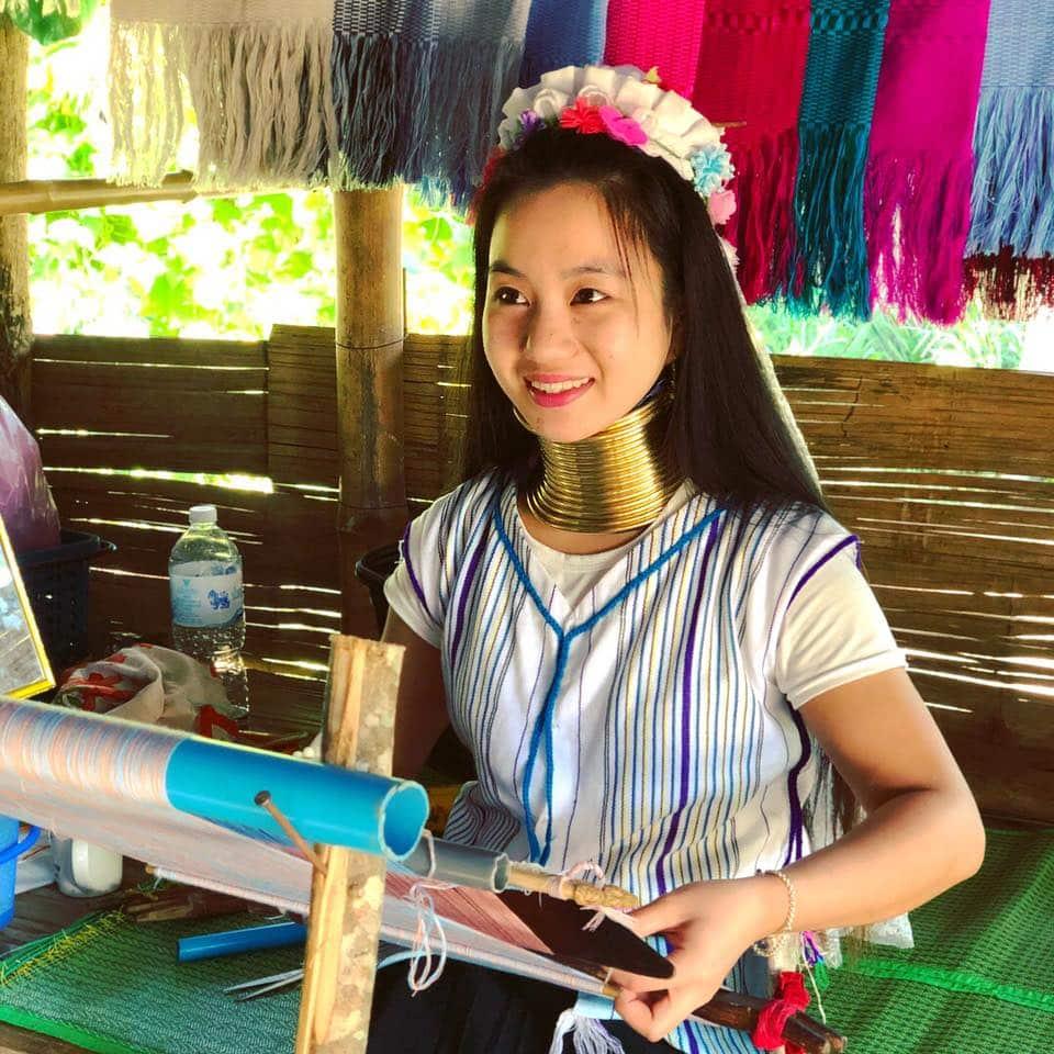 Thăm bộ tộc cổ dài Karen, Chiang Rai - 1