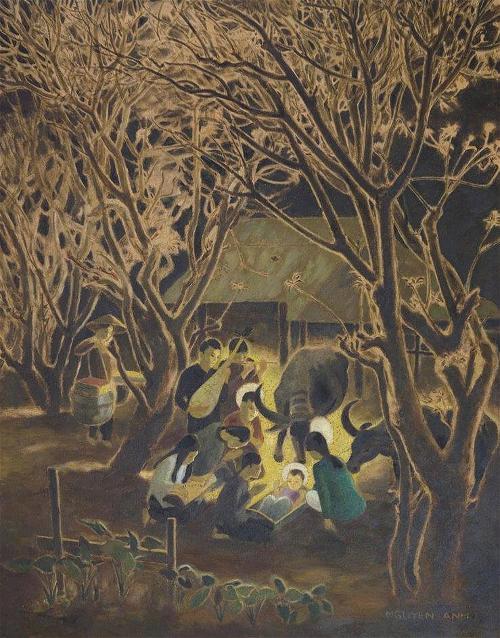 Những họa phẩm để đời về đêm huyền diệu - 2