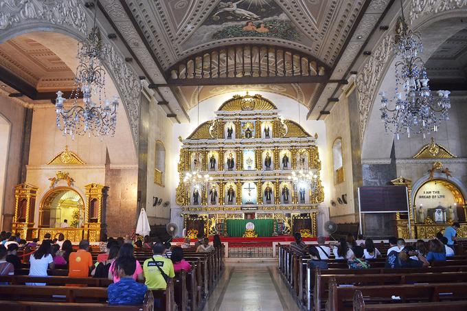 Thánh đường cổ nhất ở thành phố 'nữ hoàng phương Nam' của Philippines - 2