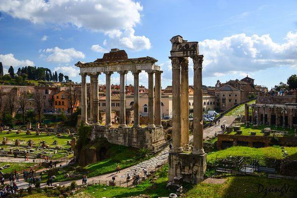 Ngắm hình bóng thời gian giữa không gian lãng mạn Roma - 8