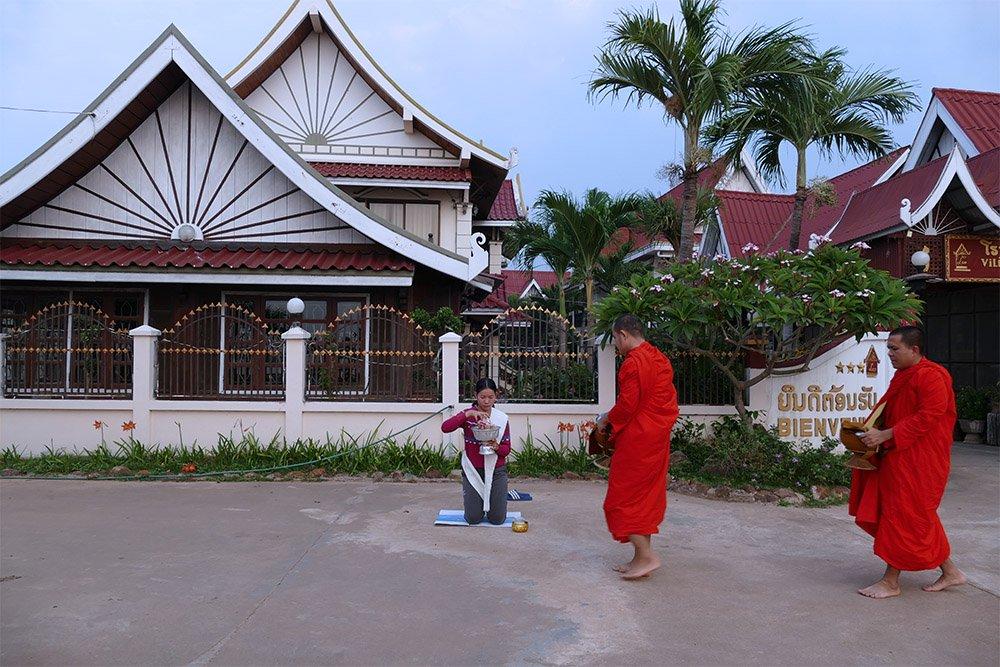 Hình ảnh đẹp mỗi sáng trên khắp đất nước Lào - 5