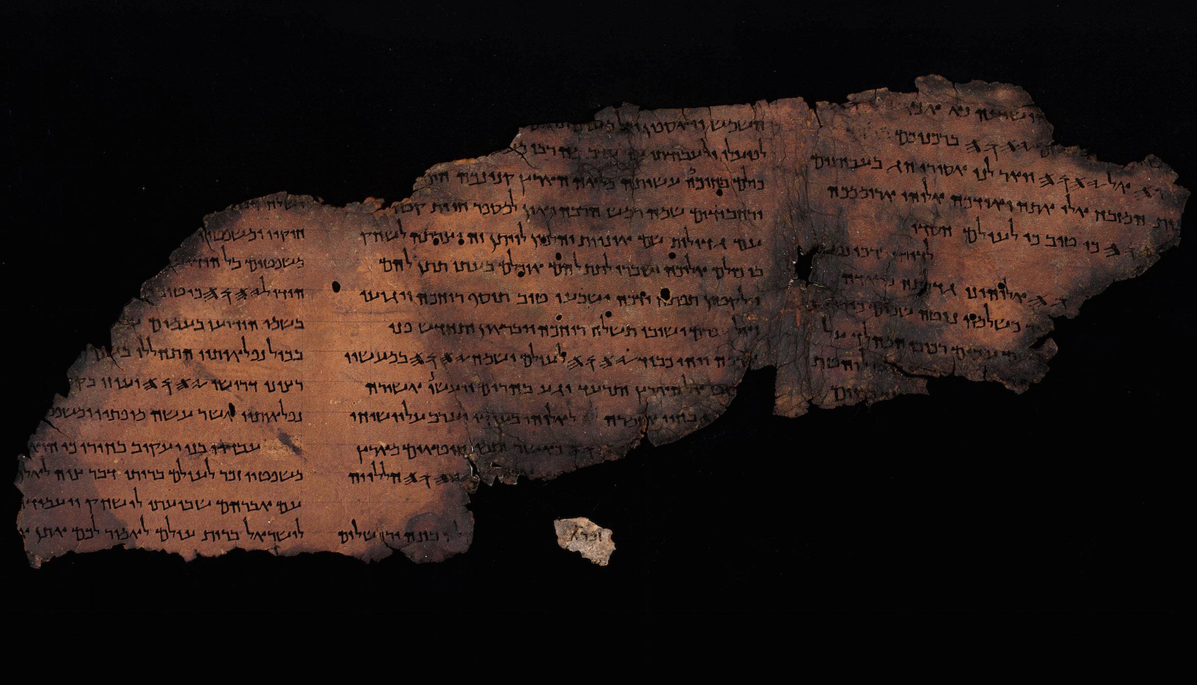 """Bản văn dấu kín được tìm thấy trên Sách Cuộn """"trắng chữ"""" của Biển Chết - 3"""