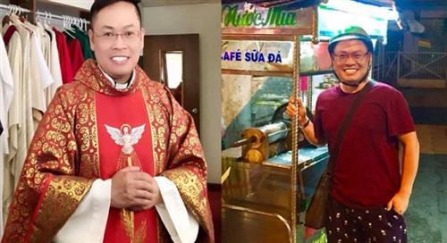 Cậu bé bán bánh trước nhà thờ giờ trở thành linh mục - 1