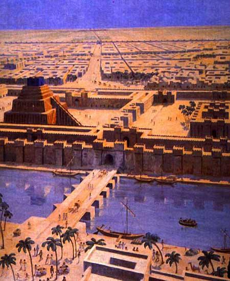 Truyền thuyết bí ẩn về Vườn treo Babylon - 1