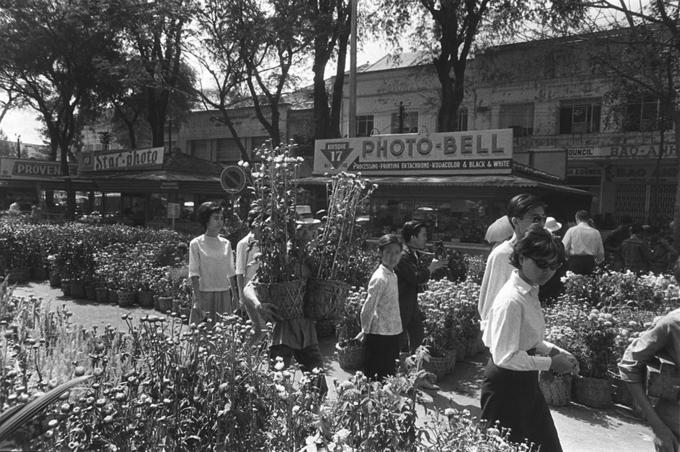 Ảnh đen trắng về Sài Gòn những năm 1960 của nhà báo Pháp - 6