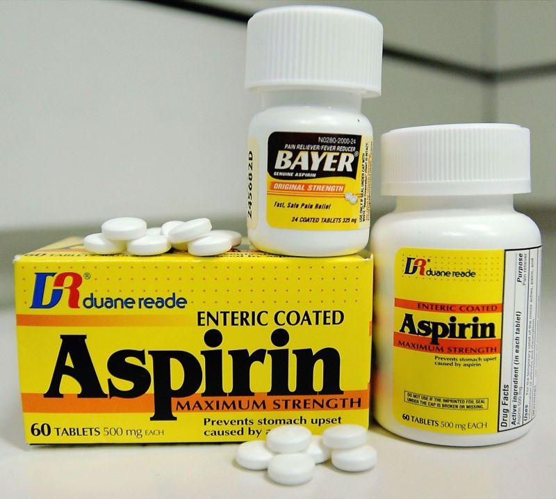 Lợi ích của thuốc Aspirin - 2