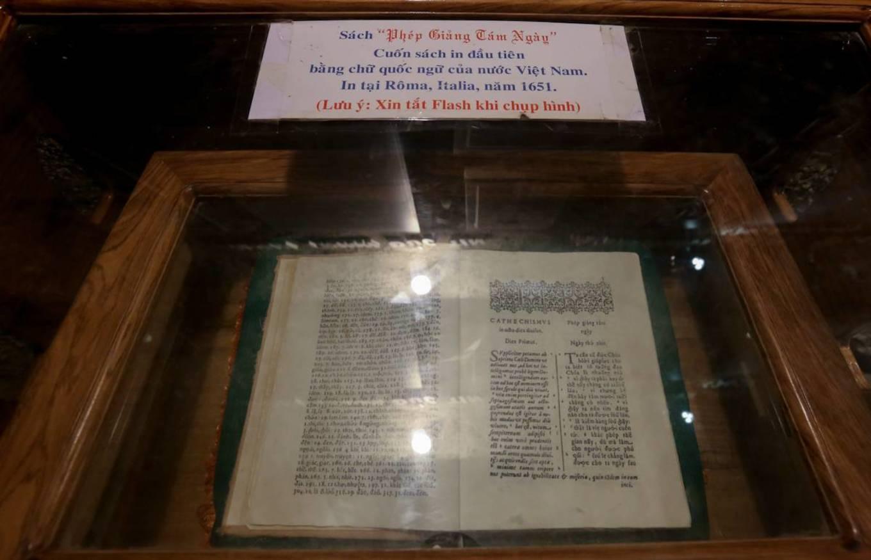 Nhà thờ Mằng Lăng nơi lưu giữ cuốn sách quốc ngữ đầu tiên - 6