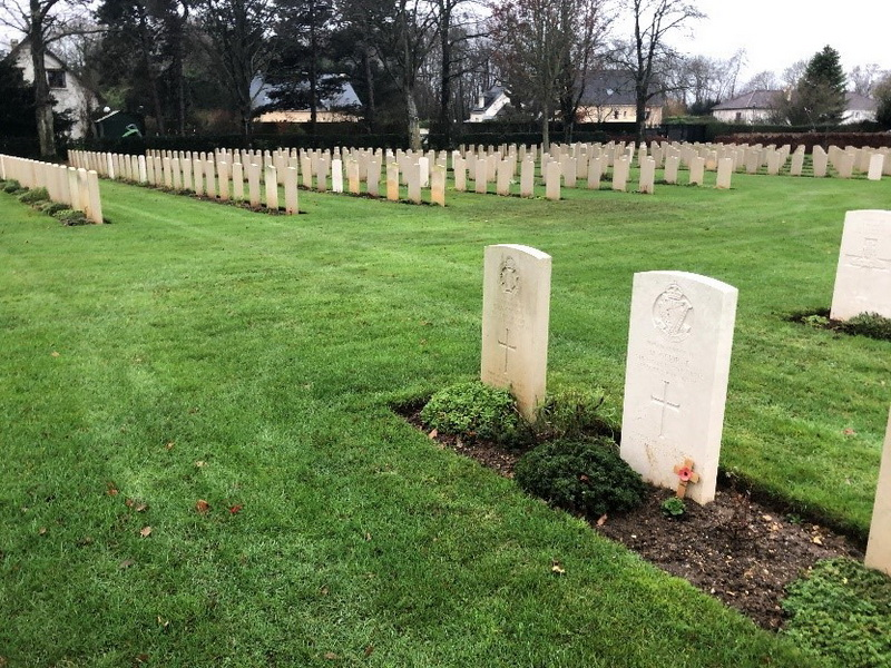 Normandie, những mộ phần bên nhau - 4