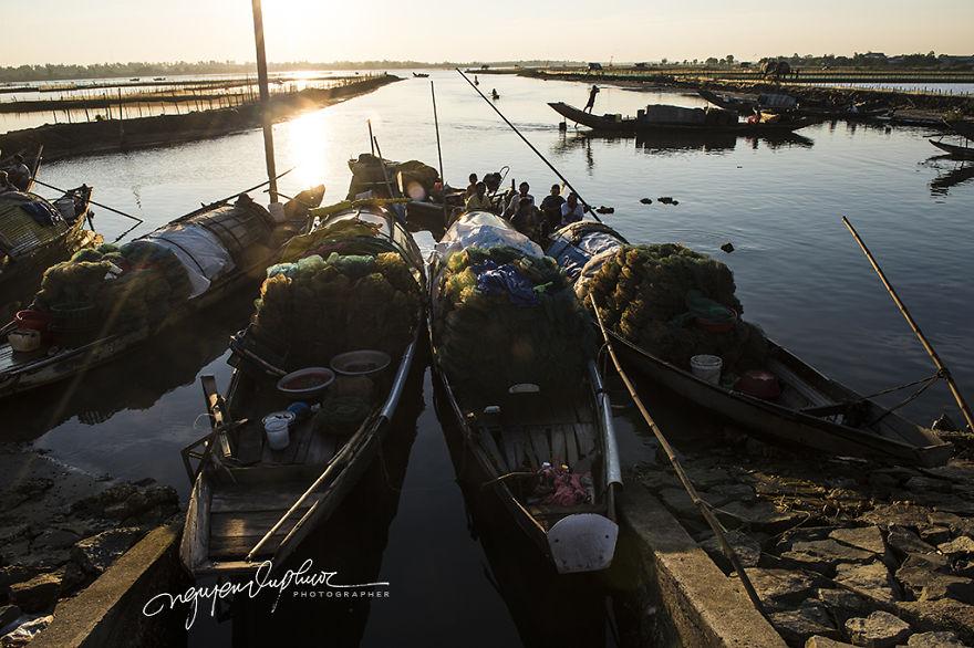 Ghé thăm Văn Quất Động – làng chài yên bình ở Huế - 7