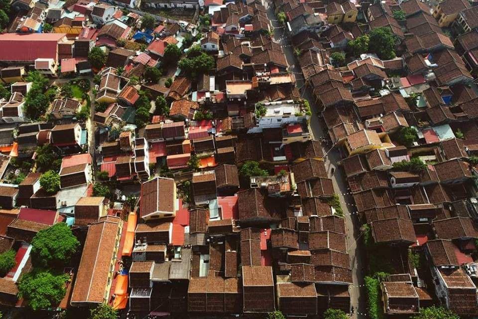 Nhìn từ trên cao Hội An lung linh như một bức tranh - 11