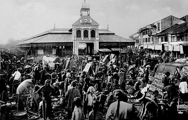 Chợ Bình Tây người Hoa Chợ Lớn xưa - 1