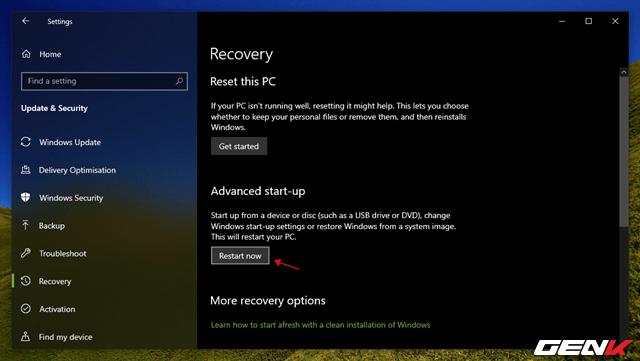 """Windows 10 cung cấp sẳn 04 lựa chọn """"làm tươi"""" lại hệ điềuhành - 12"""