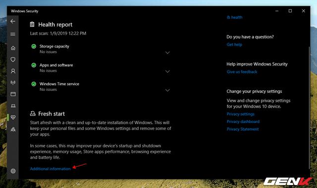 """Windows 10 cung cấp sẳn 04 lựa chọn """"làm tươi"""" lại hệ điềuhành - 7"""