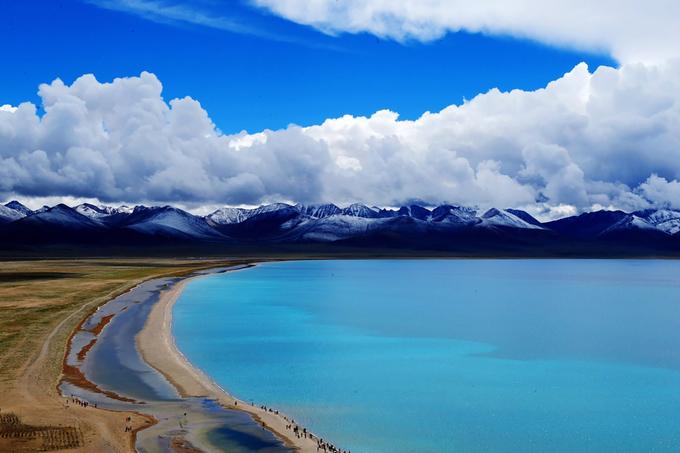 Tây Tạng phủ tuyết trắng trong mùa đông - 1