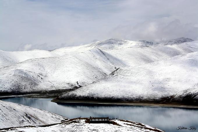 Tây Tạng phủ tuyết trắng trong mùa đông - 6