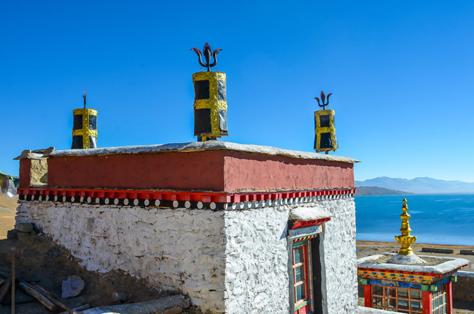 Tây Tạng phủ tuyết trắng trong mùa đông - 8