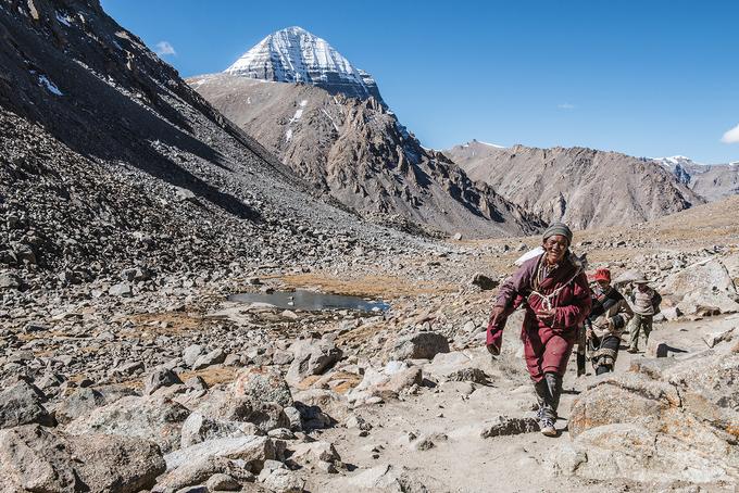 Tây Tạng phủ tuyết trắng trong mùa đông - 10