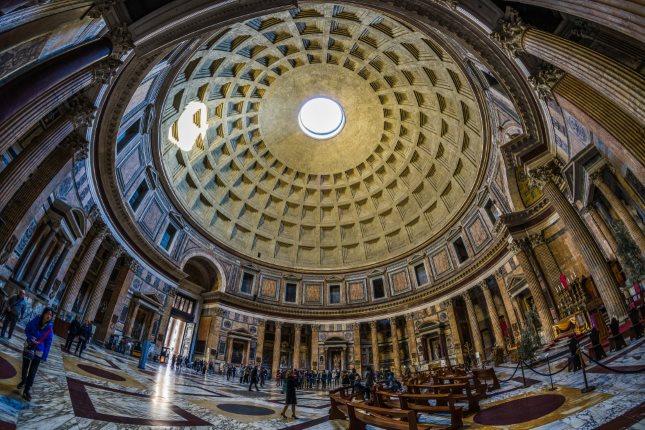Đền Pantheon: Kỳ quan kiến trúc cổ đại – Ngôi đền của các vị thần - 1
