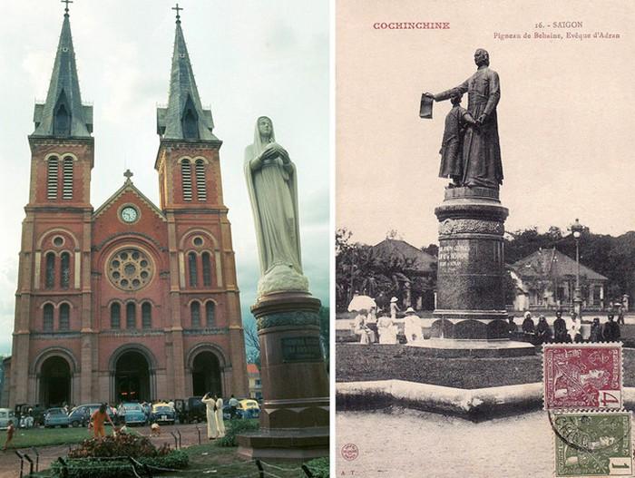 Hình ảnh nhà thờ Đức Bà Sài Gòn lúc  mới xây - 13