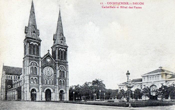 Hình ảnh nhà thờ Đức Bà Sài Gòn lúc  mới xây - 6