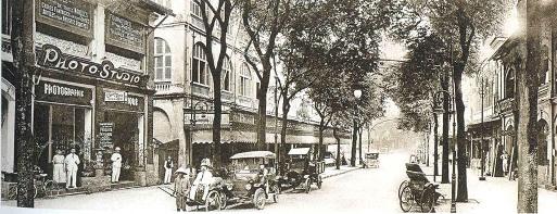 Đường Catinat và nếp sống Sài Gòn xưa - 1