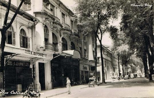 Đường Catinat và nếp sống Sài Gòn xưa - 5