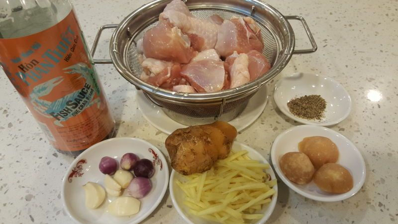 Cách làm món gà kho gừng - 2