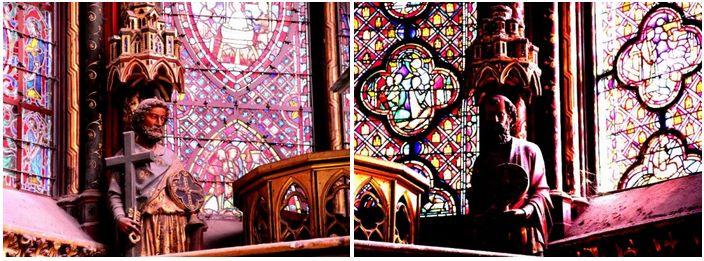 """Nhà thờ """"La Sainte Chapelle"""": Một kỳ công kiến trúc thời Trung Đại - 10"""