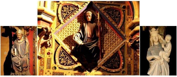 """Nhà thờ """"La Sainte Chapelle"""": Một kỳ công kiến trúc thời Trung Đại - 3"""