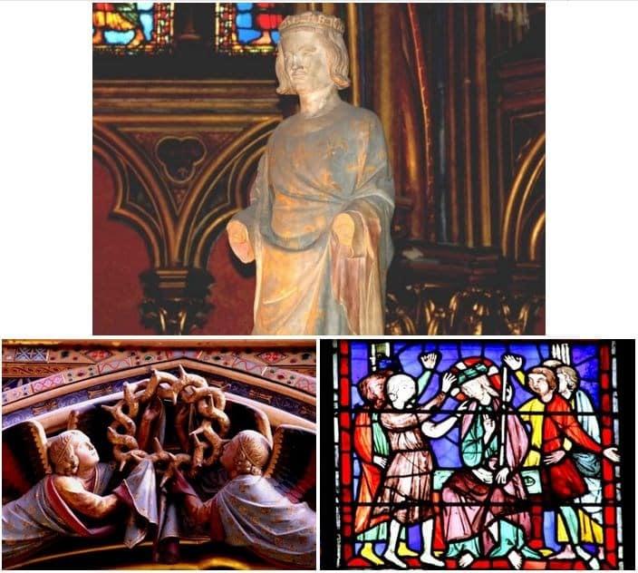 """Nhà thờ """"La Sainte Chapelle"""": Một kỳ công kiến trúc thời Trung Đại - 11"""