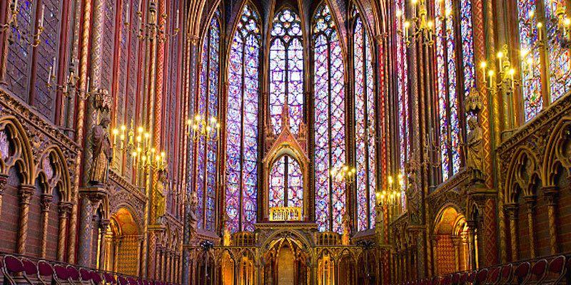 """Nhà thờ """"La Sainte Chapelle"""": Một kỳ công kiến trúc thời Trung Đại - 1"""