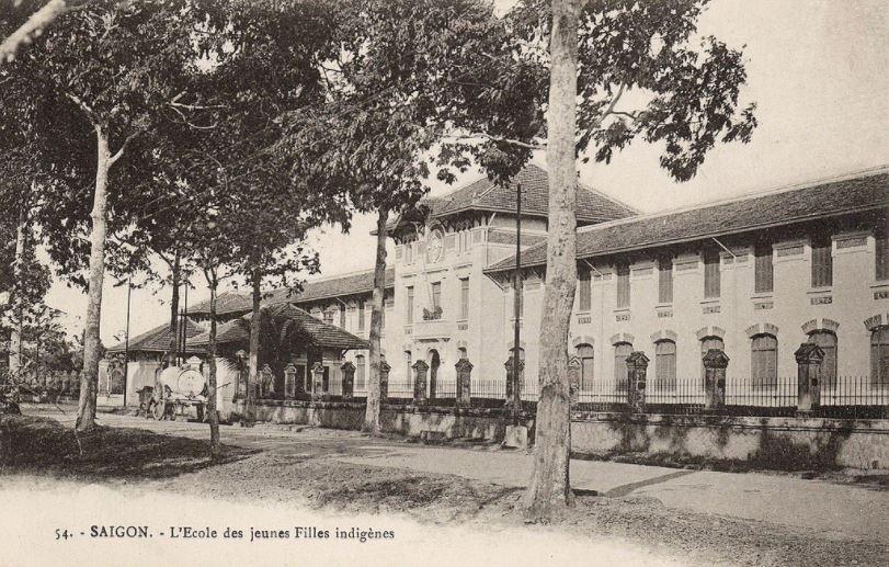 Trường áo tím Sài Gòn ngày xưa - 1