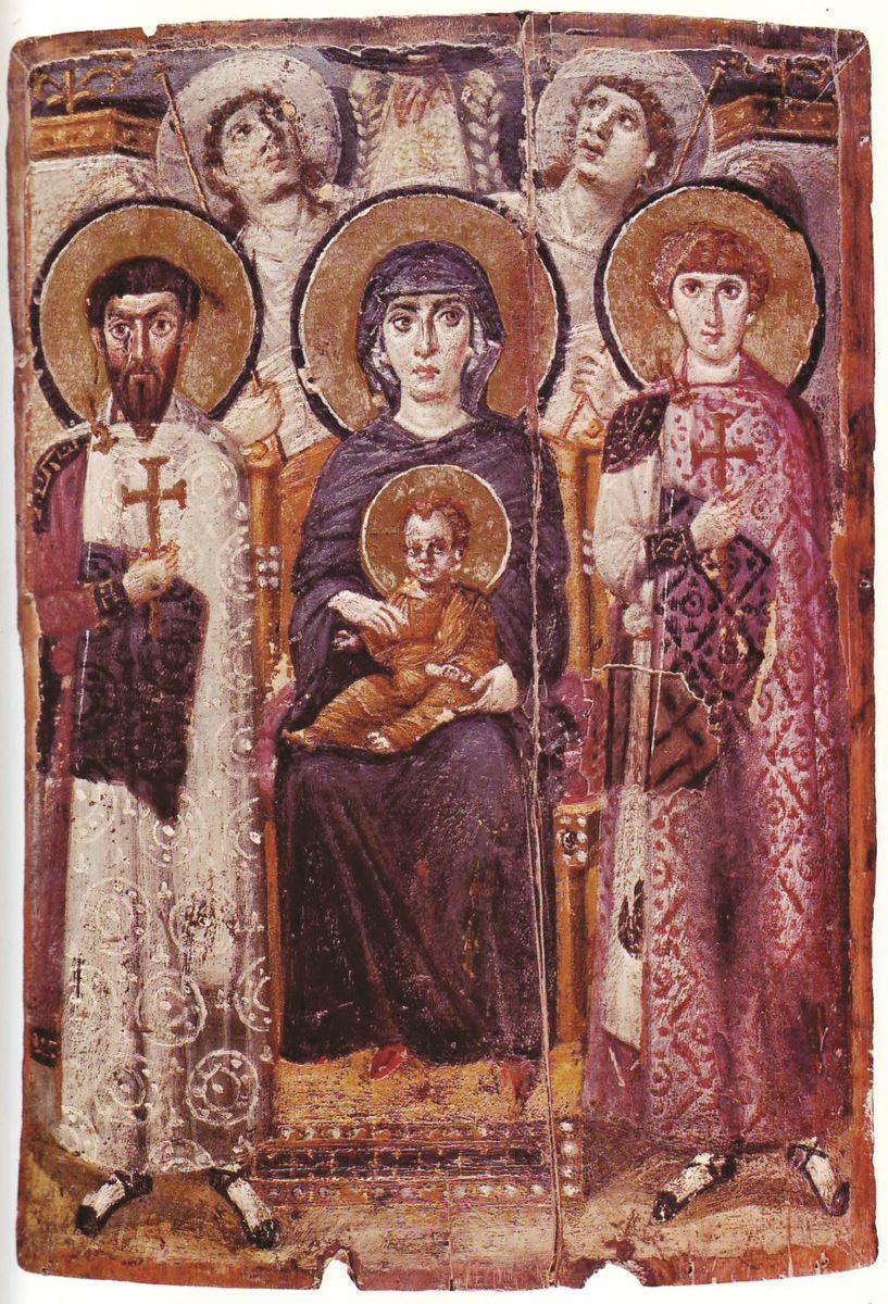 9 tranh ảnh cổ xưa về Ðức Mẹ - 5