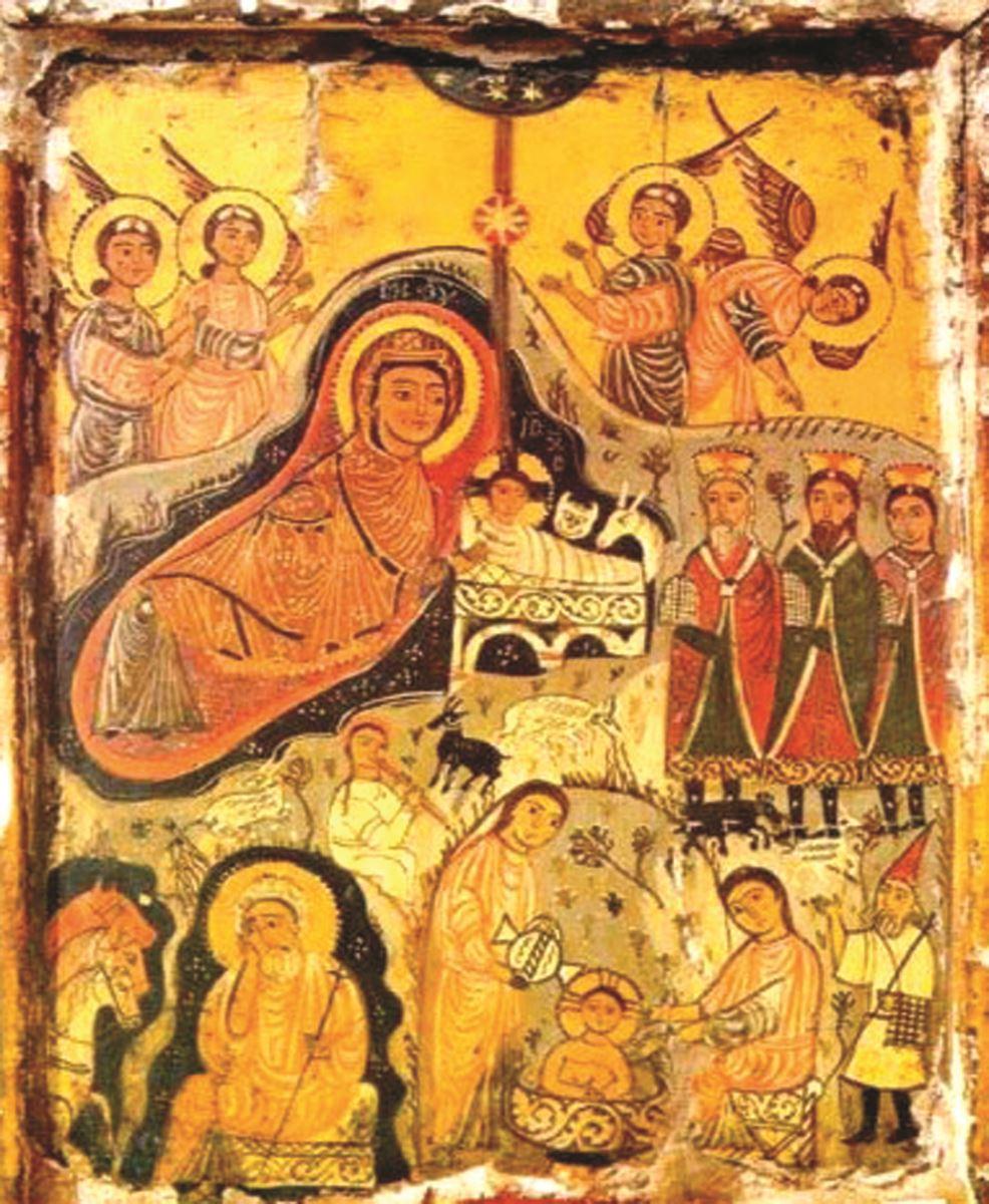 9 tranh ảnh cổ xưa về Ðức Mẹ - 6