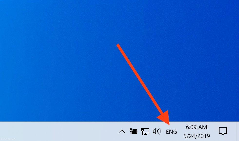 Cách bật bộ gõ tiếng Việt TELEX và VNI cho Windows 10 - 1