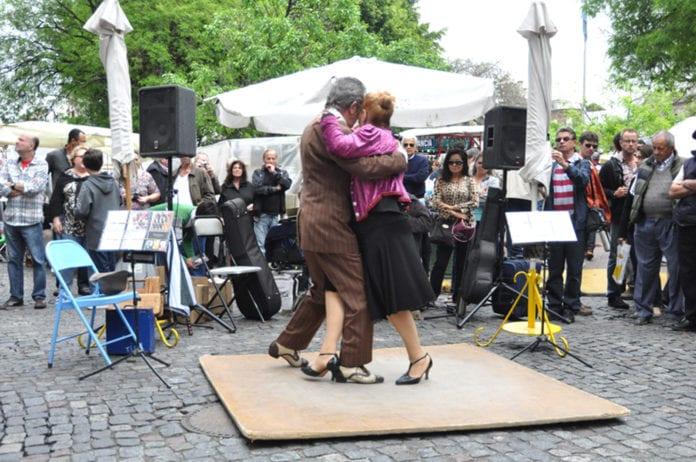Vũ điệu Tango độc đáo ở Argentina - 1