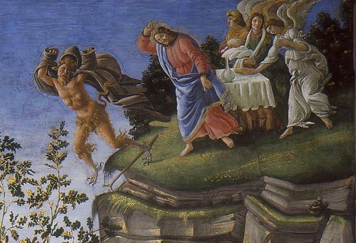 Chuyện chúa Giêsu vượt qua cám dỗ của ác quỷ qua tranh Phục Hưng - 4
