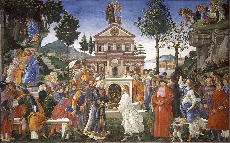 Chuyện chúa Giêsu vượt qua cám dỗ của ác quỷ qua tranh Phục Hưng - 1