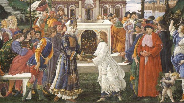 Chuyện chúa Giêsu vượt qua cám dỗ của ác quỷ qua tranh Phục Hưng - 5